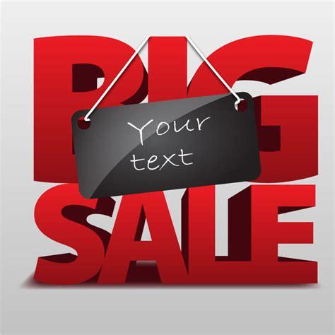 big sale template free vector in adobe illustrator ai