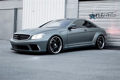 black benz famous parts mercedes benz cl63 amg black edition wide body