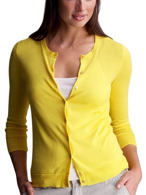 Hooded Chunky Sweater Yellow yellow cardigan for i always like this basic look