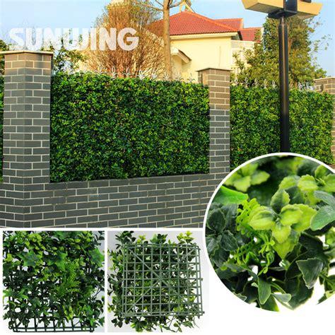 10pcs lot 60x40cm artificial boxwood hedges panels buy wholesale artificial boxwood hedge from china