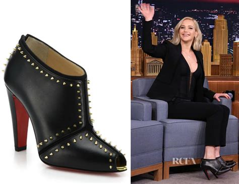 Who Wore It Better Christian Louboutin Studded Booties by S Christian Louboutin Studded Leather