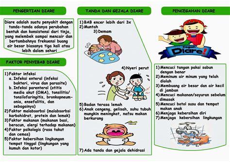 Design Leaflet Kesehatan   proud to be a nurse brosur sap pencegahan diare pada anak