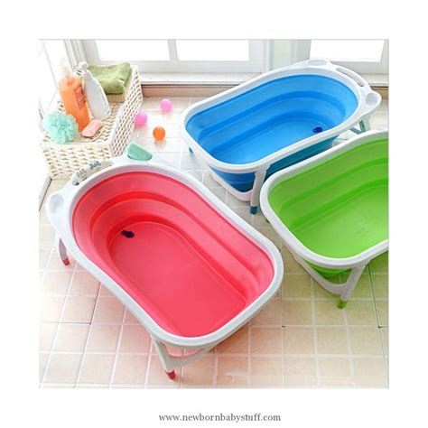 bathtub foldable baby accessories baby folding bath tub pink