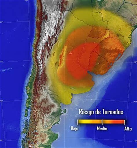 """geografía física: """"el corredor de los tornados"""""""