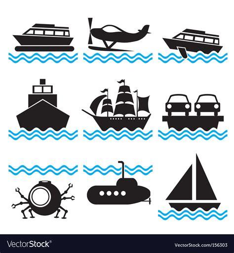 free boat icon icons boat royalty free vector image vectorstock