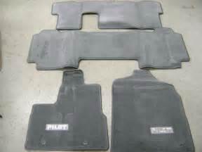 Carpet Floor Mats For Honda Pilot 06 08 Genuine Factory Oem Honda Pilot Carpet Floor Mats In