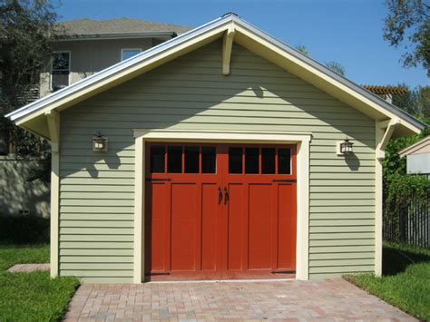 Single Detached Garage by Detached Garage Craftsman Garage And Shed