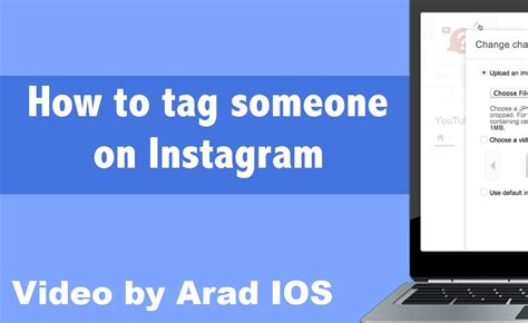 how to make a fan page on instagram how to tag someone on instagram youtube