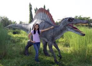 Freestanding Stone Bathtubs Spinosaurus Dinosaur Statue Life Size