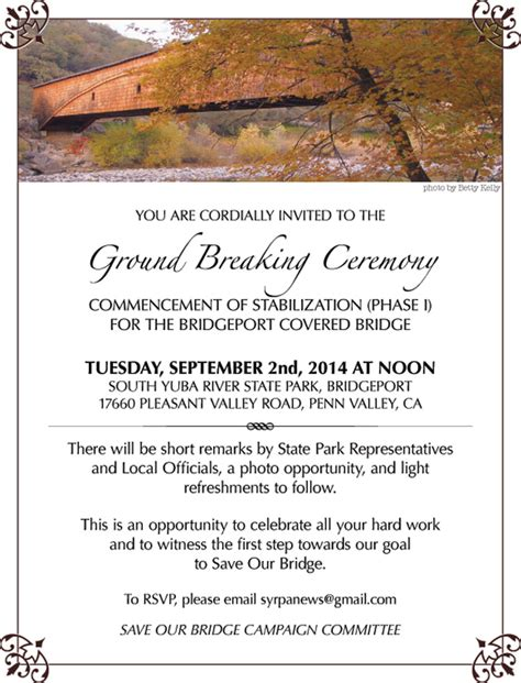 groundbreaking ceremony invitation templates groundbreaking ceremony invitation card infoinvitation co