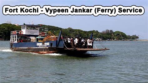 boat service in kochi fort kochi vypeen junkar ferry service www keralapix