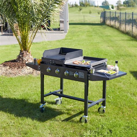 Barbecue Grill Et Plancha Gaz by Barbecue Plancha 224 Gaz Favex Pas Cher 224 Prix Auchan