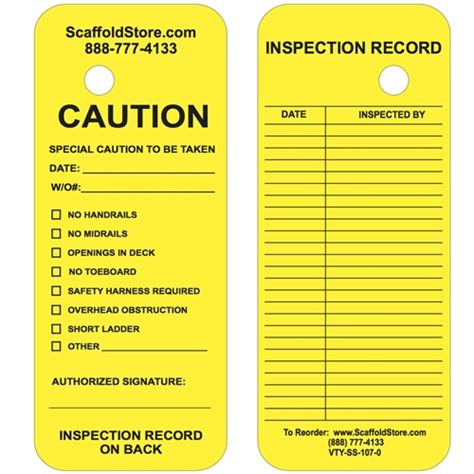 Scaffolding Inspection Checklist Template Word Doc Scaffold Safety Program Template