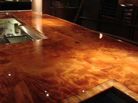 bar top sealer epoxy resin very clear durable commercial grade tabletop