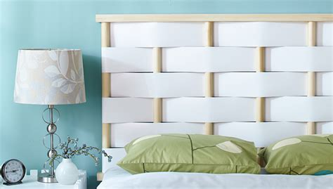 Diy White Headboard diy white woven headboard