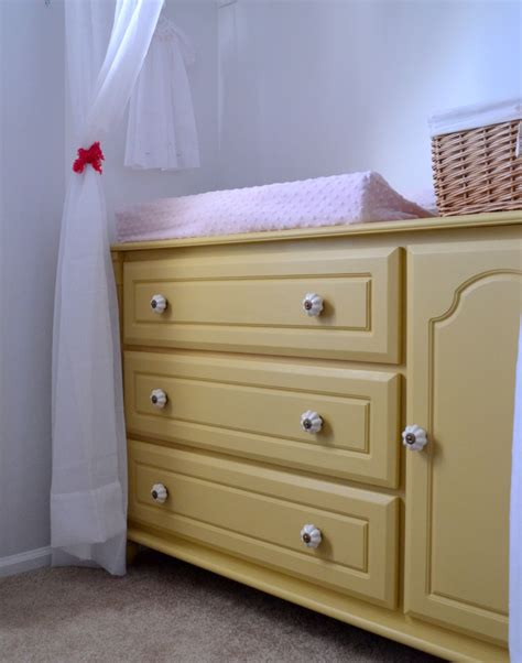 Furniture Ten June Nursery Update Ikea Dresser Turned Nursery Changing Table