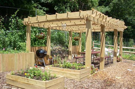 pictures of pergolas in gardens maher greenwald pergolas and spas gallery