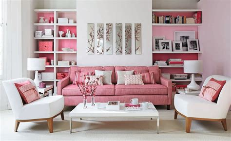 Pink Sofa Living Room Creative Juice Think Pink