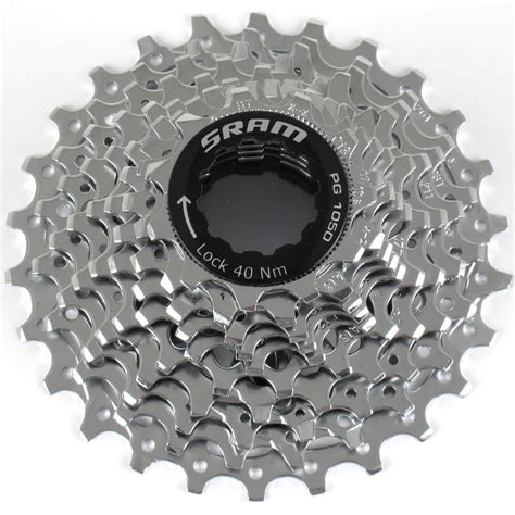 sram 10 speed cassette sram pg 1050 road bike cassette 11 26t 10 speed ebay