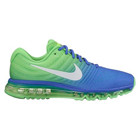 Nike Sweepstakes 2017 - nike air max 2017 men s running shoe paramount blue white electro green shoes
