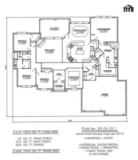 hot house plans amazing four room house plan guest plans first floor