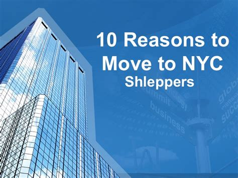 reasons to move to 10 reasons to move to nyc