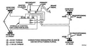 Brake Line Diagram 2000 Silverado Brake Line Diagram For The Brake Lines Going Into The Abm
