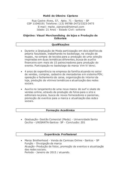 Maitê de oliveira cipriano curriculo