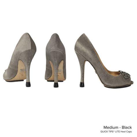 high heel caps tips lite heel cap black medium