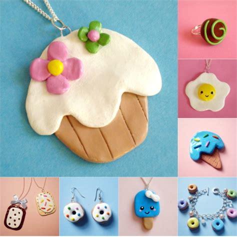 Faire et fabriquer bijoux gourmands en pâte fimo