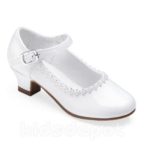 white wedding dress shoes flower rhinestone dress shoes pageant formal