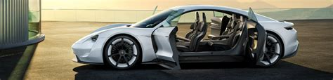 porsche mission e doors how was the porsche mission e concept designed