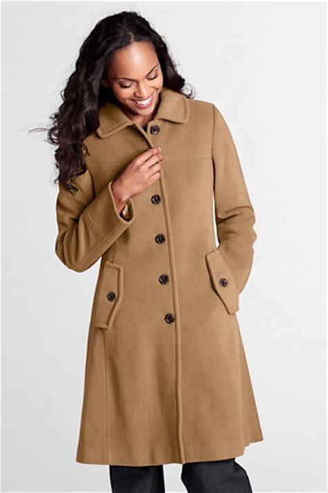 swing car coat women s luxe wool swing car coat