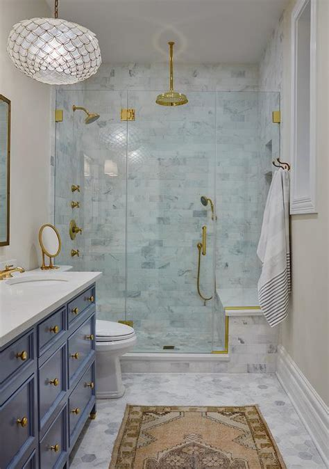 bathroom in farsi gray marble tiled shower ceiling transitional bathroom