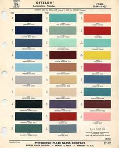 ford color codes 1956 f100 paint colors 1955 ford paint color codes