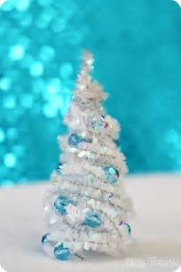 diy pipe cleaner trees christmas craft play trains
