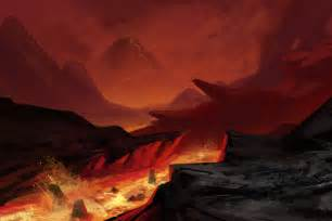 Volcano Landscape Pictures вулканик On League Of Legends Dragons And