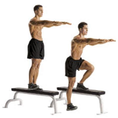 one leg bench squat build muscle and burn fat