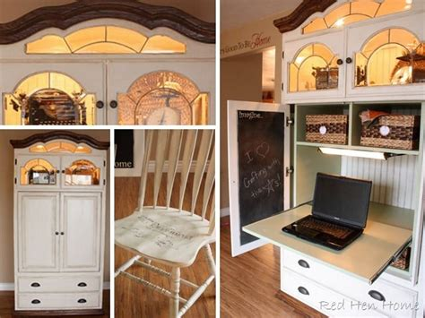entertainment center with desk 127 best upcycled entertainment centers images on