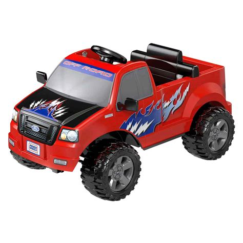 power wheels power wheels 174 dmk75 red ford lil f 150