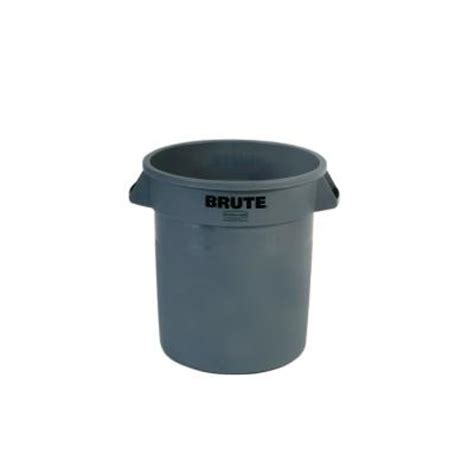 rubbermaid commercial products brute 10 gal grey