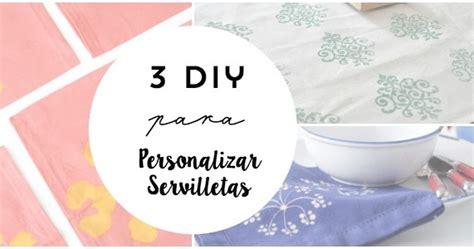diy personalizar servilletas una pizca de hogar 3 diy para personalizar servilletas en