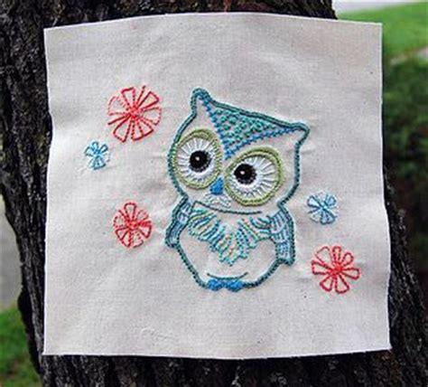 vintage owl pattern 17 best images about owl embroidery on pinterest vintage