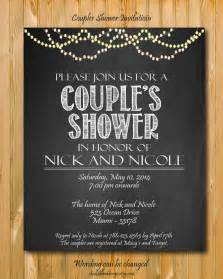 printable couples shower invitation custom