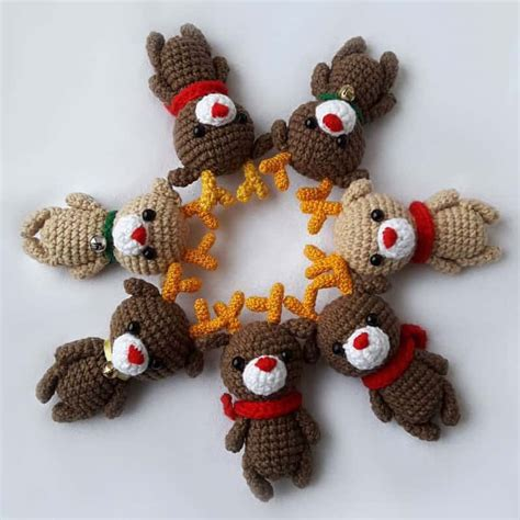 amigurumi ring pattern small reindeer amigurumi pattern amigurumi today