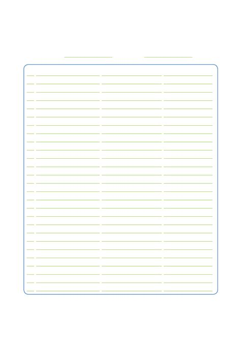 sheets template sign up sheet sle free