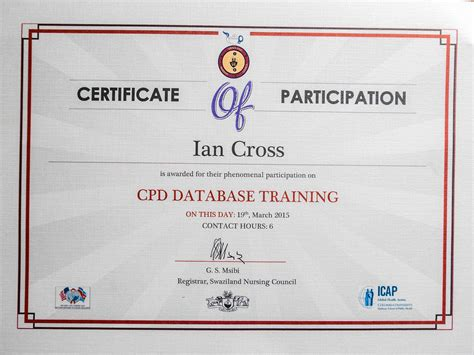 cpd certificate template reflections borderline