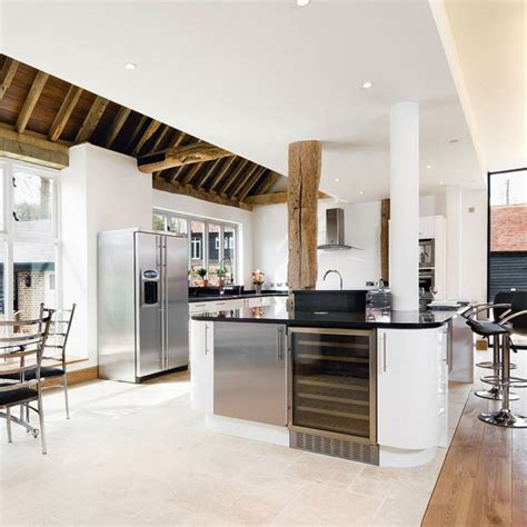 extension kitchen ideas rustic kitchen extension with modern fittings kitchen