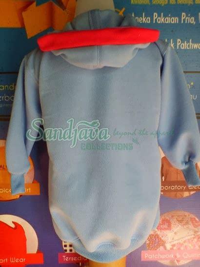 Kain Katun Golden Mella Polos jaket anak dengan variasi kancing sandjava collections