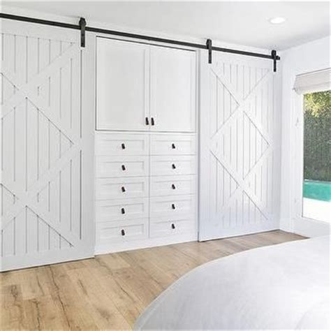 built in closet doors best 25 barn door closet ideas on sliding